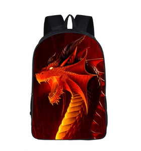 Dinosaur & Dragon Squad Backpack Multiple Print Options Available