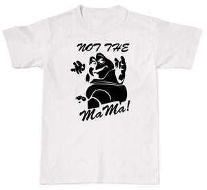 """Not The Mama"" Cotton Dinosaurs Baby T-Shirt"
