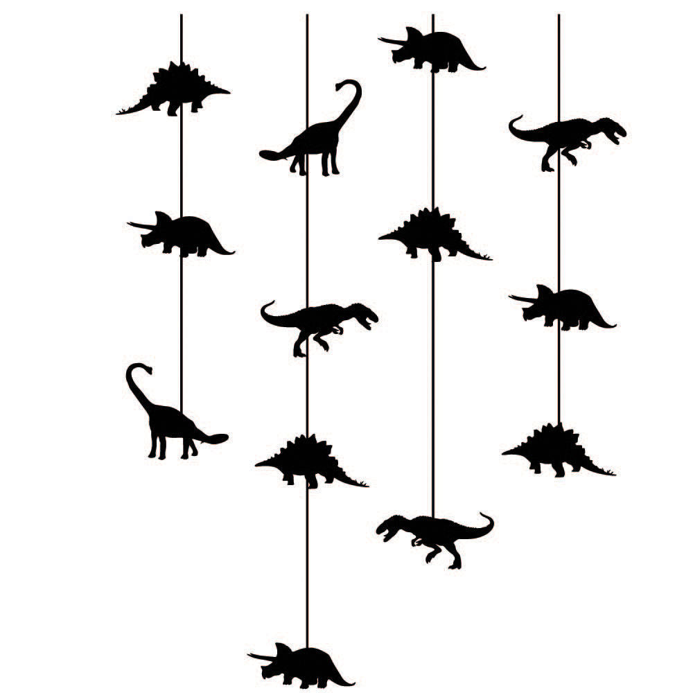 Dinosaur Mobile Vinyl Wall Stickers Decal Multiple Color Options