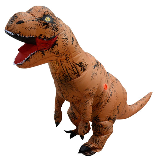 Adult Inflatable T-Rex Dinosaur Cosplay Halloween Costume