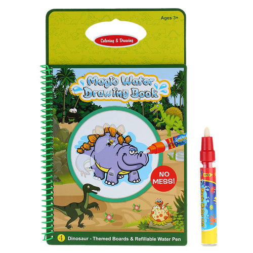 Non-toxic Magic Water Coloring Book With Magic Pen