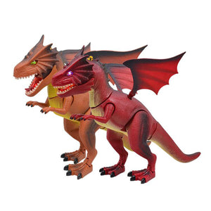 Remote Control RC Walking Dragon With Light  & Sound