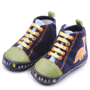 Babies First Dinosaur Canvas Shoes