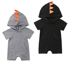 Baby Hooded Romper playsuit