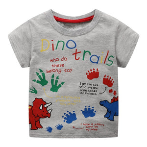 DinoTrails Dinosaur Kids T-Shirt