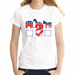 Vote For Dinosaurs Statement T-Shirt