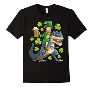 St Patty's Day Leprechaun Getting An Uber Ride Home