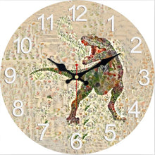 Jurassic Garden Collection Wall Clocks In 4 Sizes