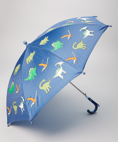 Blue Dinosaur Kids Umbrella