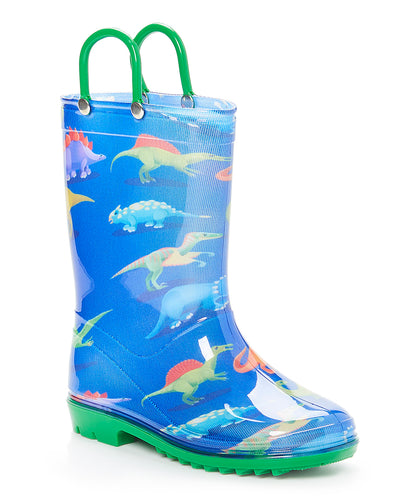 Blue Dinosaurs Rain Boot
