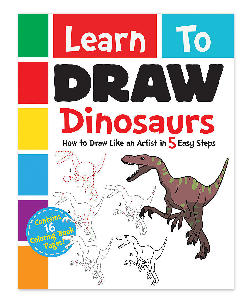Learn to Draw Dinosaurs Paperback