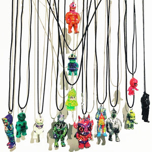 Pendant Necklace Designer Toy Kaijuwelry