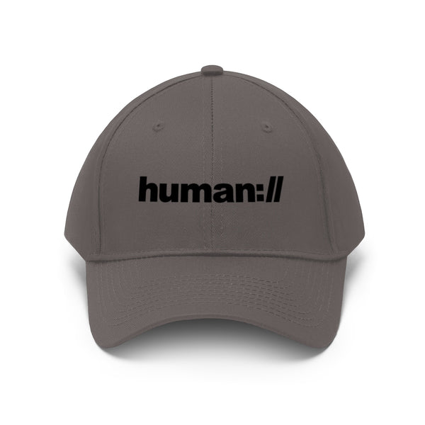 human:// dad hat style twill cap