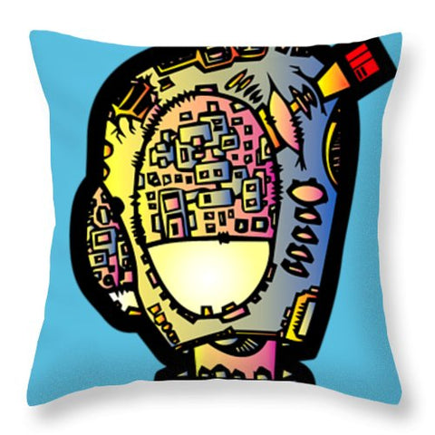 Aeqea M Third Throw Pillow