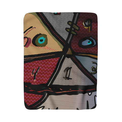 Facer Fleece Blanket Youth Artist Egauw