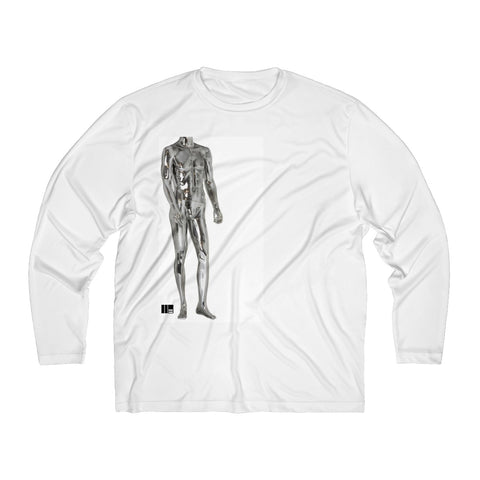 I'm Too Sexy For This Men's Moisture Absorbing Long Sleeve Shirt