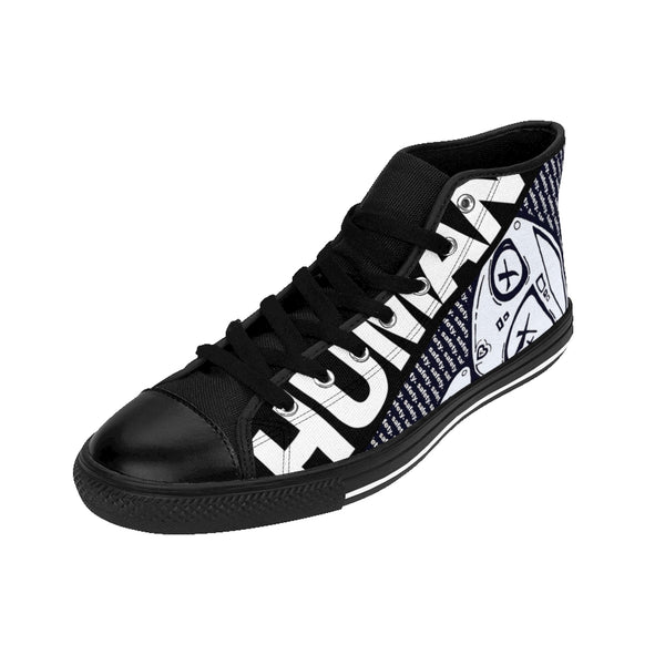 Culture Safety Women's High-Top Streetwear Sneakers