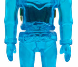Gargamel Micronauts Microman Blue Time Traveler Soft Vinyl Figure 2004 Japan Sofvi