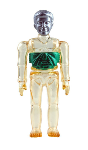 Gargamel Micronauts Microman Clear Time Traveler Soft Vinyl Figure 2004 Japan Sofvi