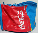 2004 Olympics Athens Retro Coca Cola Fanny Pack 6'' Official Athena Banana Bum Bag Blue Waist Hip Pouch