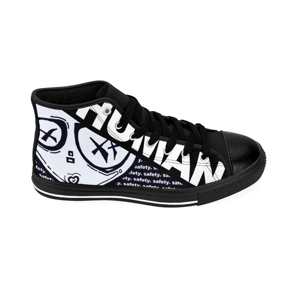 Culture Safety Men's High-Top Streetwear Sneakers