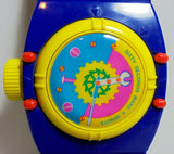 Vintage 80's Retro Wrist Watch Mechanical Pencil Case w/ Working Buttons & Accessories