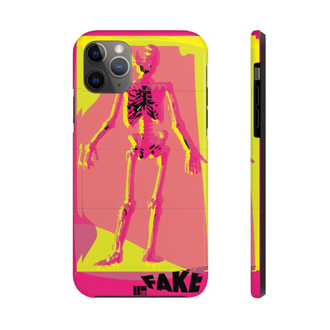 Fake Human iPhone 11, Pro, Max Case Mate Tough Phone Case