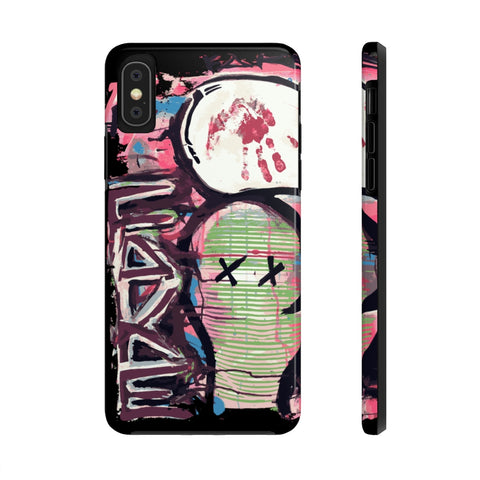 Fake Face Phone Case Mate for iPhone