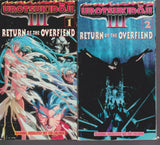 Urotsukidoji III Return of the Overfiend OVA Episodes 1-4 VHS