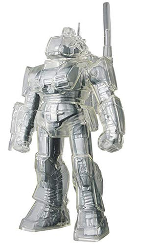 Fang of The Sun Dougram Sofubi Clear Mechanic Version Vinyl Figure Designer Toy