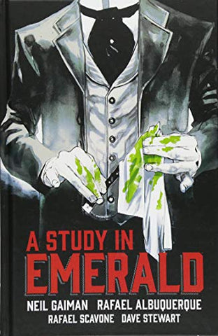 Neil Gaiman's A Study in Emerald - Graphic Novel Comic Book