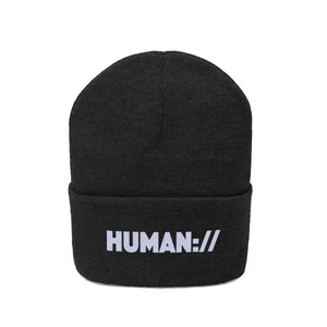 Aeqea Human:// Beanie Winter Knit Cap