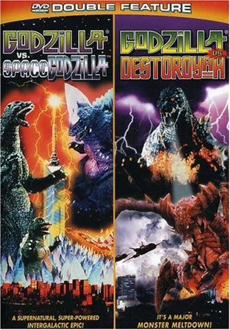 Godzilla vs. SpaceGodzilla / Godzilla vs. Destoroyah (DVD Double Feature)