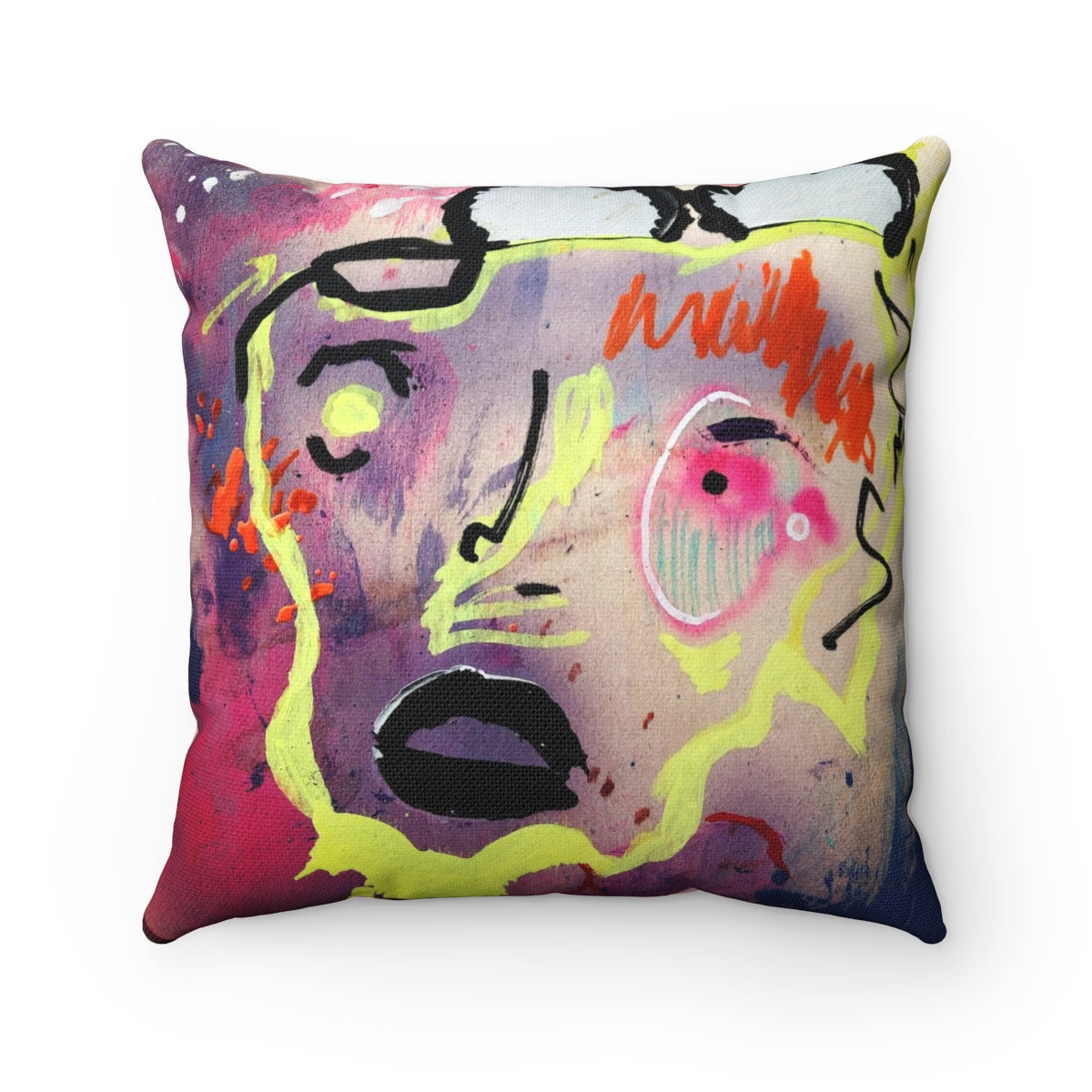 Back to Self Polyester Pillow