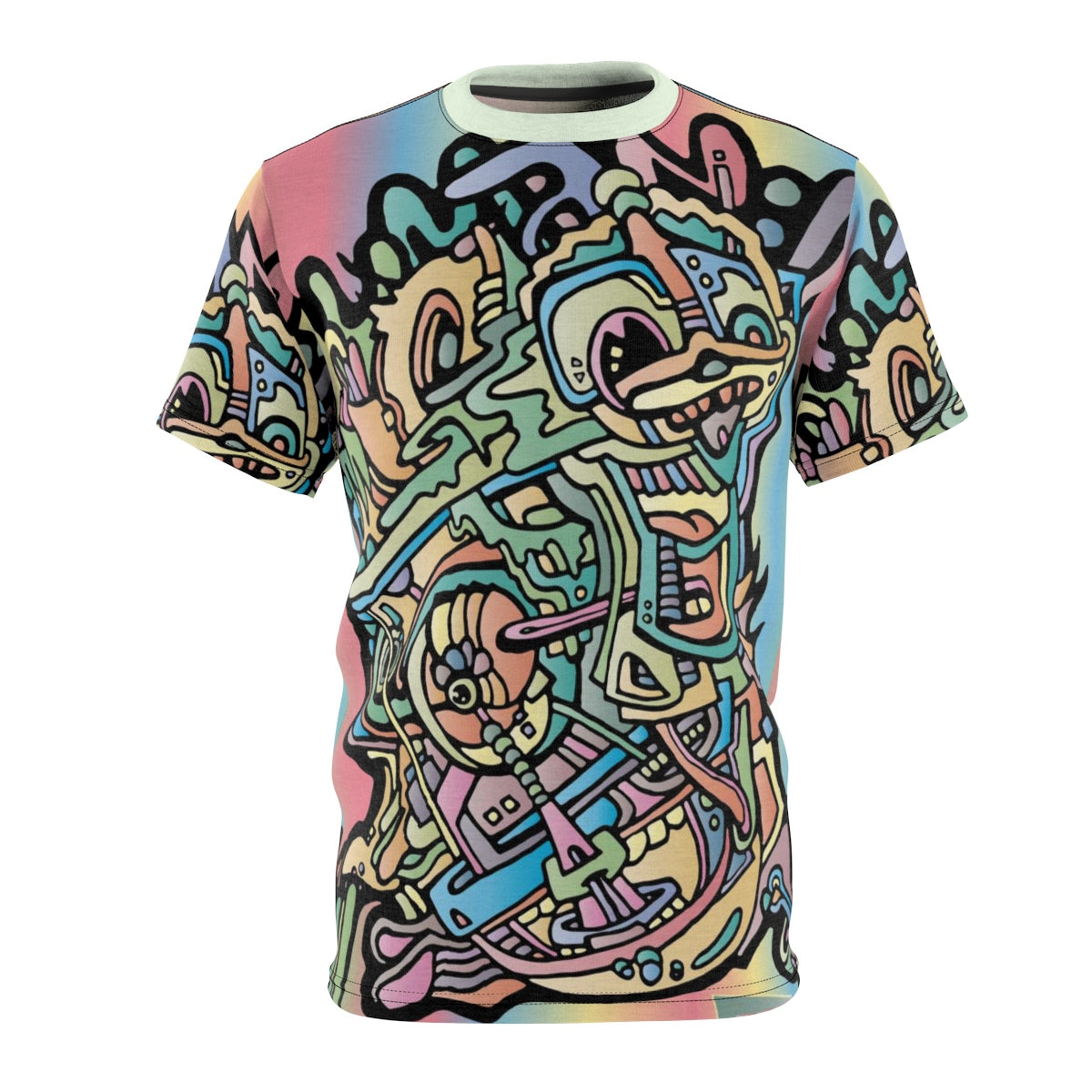 Aeqea Boogerman - All-Over-Print Unisex Cut & Sew Tee