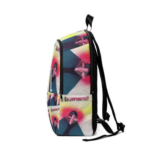 Human Supply Skullhead Neon Rising Backpack