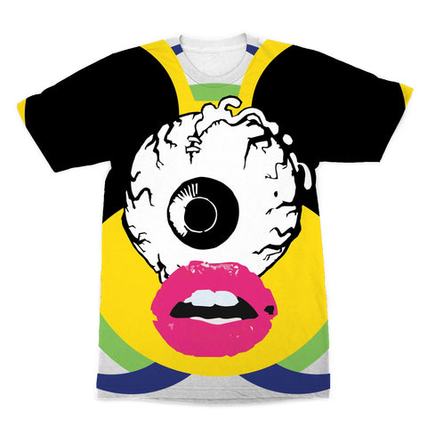 Captivated Cow Oenun Sublimation T-Shirt