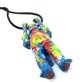 M1 Acid Vomit Custom AEQEA Kaiju Pendant Acro KRS35 Ultra Q Mini Vinyl Figure Ultraman Necklace
