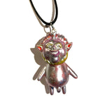 Puny Wiener Big Dreamer VAG AEQEA customized mashup pendant DreamRocket x ETO art toy necklace