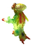 BLObPUS The Last Kaiju Toxic Hawaiian Clear Green Super Fest Original Japanese Soft Vinyl Designer Toy Super Fest Munyene Madeli Release