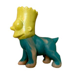 Bacee Bart Dog Mashup Custom Toy Art Sofubi Figure
