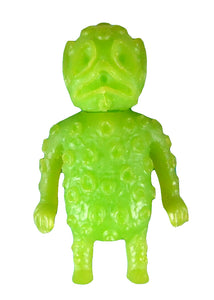 Blurble One Ooze-It Ooze In My Pocket Green Keshi Art Toy Rubber Figure Blank Unpainted Alien Monster