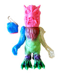Bukimi Blasters Evil Demon Sofubi Mixed Parts Vinyl Kaiju Custom Spray Shigeo Endo Designer Toy Figure