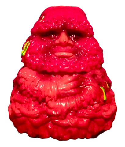 Crybag x Planet-X Asia Meat Bag Sofubi First Painted Release Soft Vinyl Kaiju Designer Toy Figure