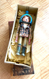 David Choe CHOEGAL Ningyoushi Designer Art Toy Handmade Painted Wooden Figure