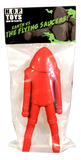 "Earth vs The Flying Saucers 12"" Saucerman Sofubi Red Vinyl Blank Unpainted HOPToys Figure 1 of 25"