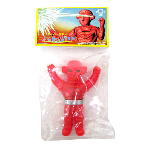Fake Baron Sofubi Mini Glitter Figure by Awesome Toy