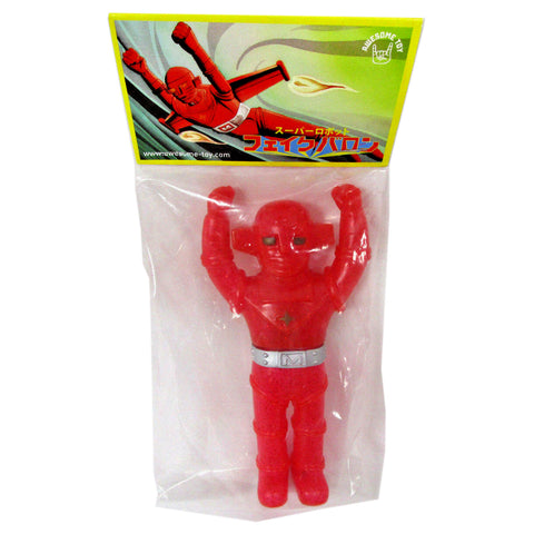 Fake Baron Sofubi Glitter Vinyl Figure by Awesome Toy