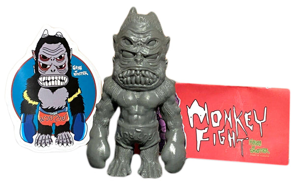 Gang Of Monster Monkey Fight Blank Unpainted Resin Toy Art Figure