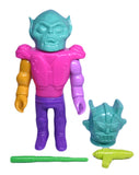 Gargamel x Misty Fog x Le Merde Bronco Willis Sofubi Mixed Parts Soft Vinyl Designer Toy